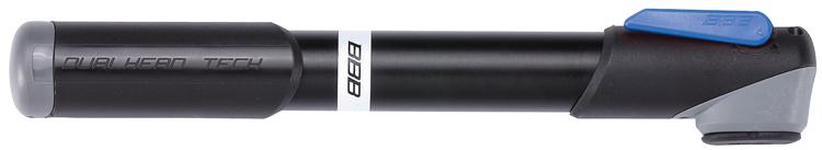 Велонасос BBB 2015 WindRush SBMP-55Насос BBB 2015 WindRush S обладает легким корпусом из алюминия 6063 T6. Давление до 7 bar/100 psi. Металлический плунжер обеспечивает быстрое накачивание большого объема воздуха. Насос оснащен насадкой DualHead с фиксатором под большой палец. Колпачок предохраняет ниппели от загрязнения. Подходит для ниппелей Presta, Schrader и Dunlop. Длина: 230 мм.