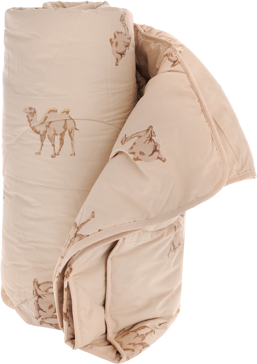 """Одеяло теплое Легкие сны """"Верби"""", наполнитель: верблюжья шерсть, 140 х 205 см"""