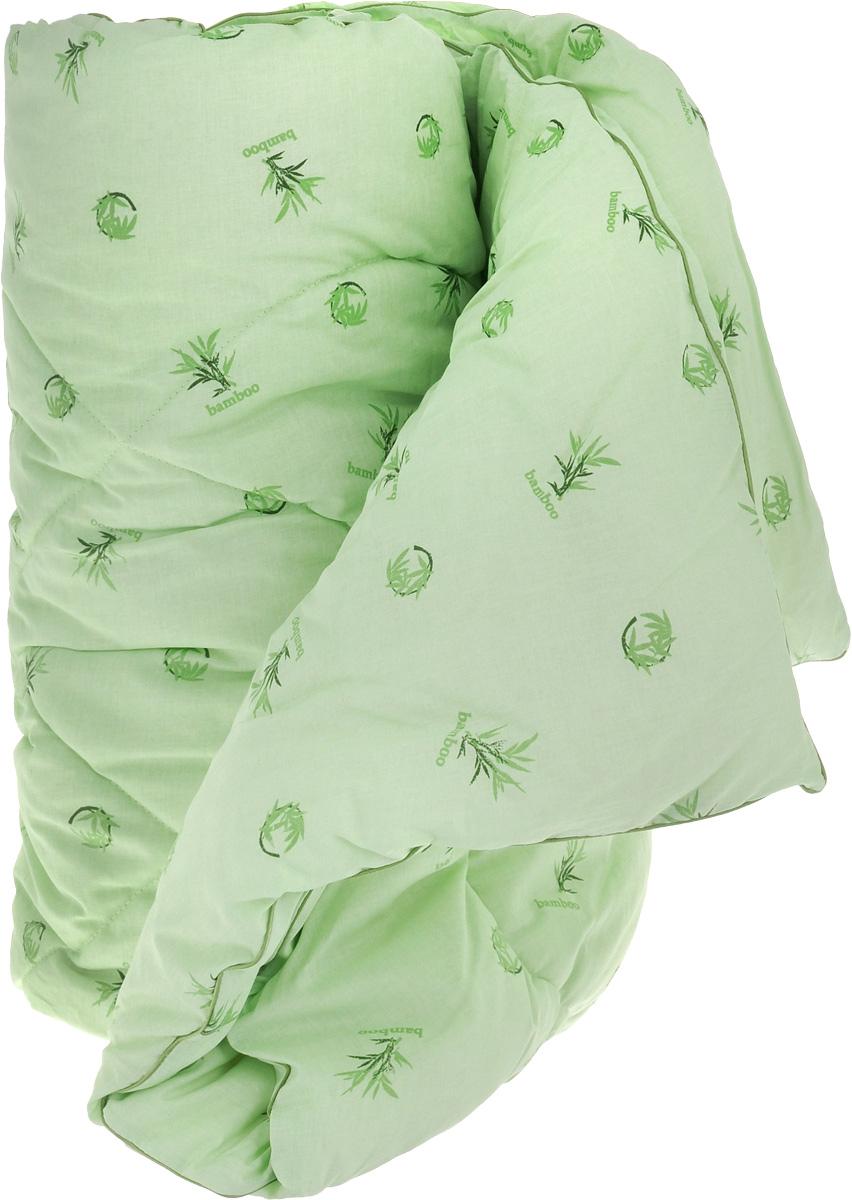 """Одеяло теплое Легкие сны """"Бамбук"""", наполнитель: бамбуковое волокно, 172 х 205 см"""