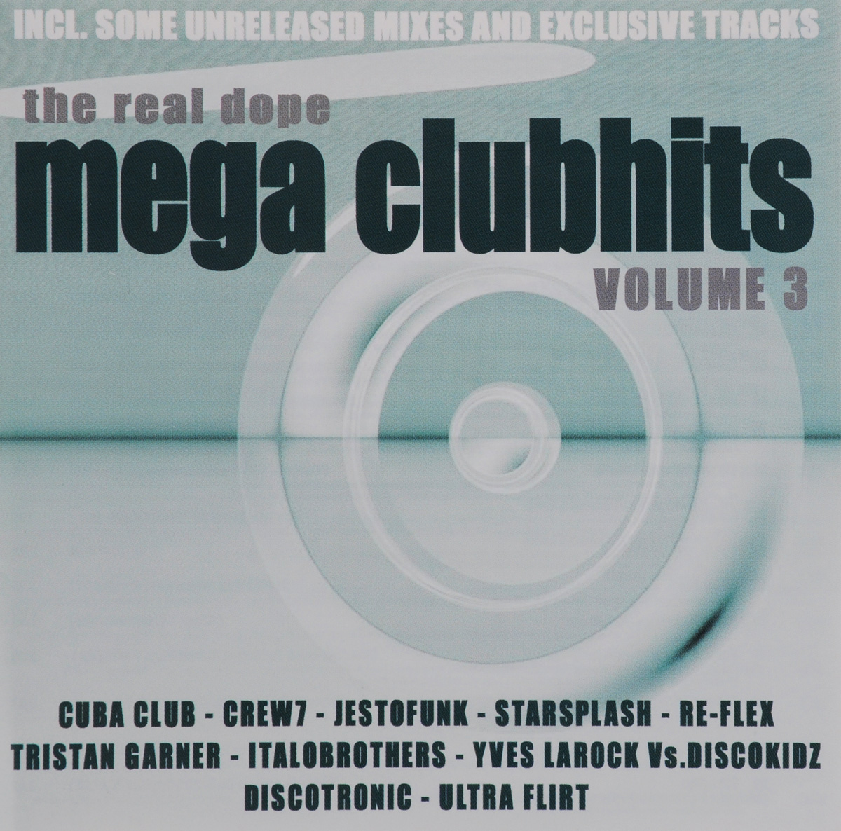 Hte Real Dope. Mega Clubhits. Volum 3 (2 CD)