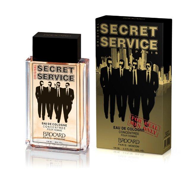 Brocard Secret Service Original Одеколон для мужчин, 100 мл