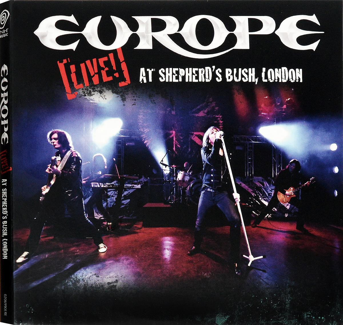 Europe Europe. Live! At Shepherd's Bush, London (CD + DVD)