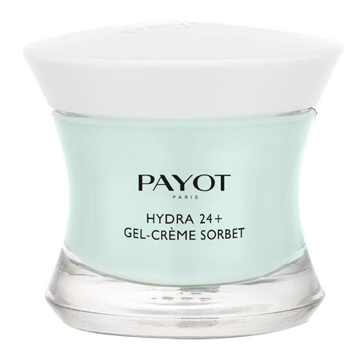 Payot Hydra 24+ Увлажняющий крем-гель, возвращающий контур коже, 50 мл payot hydra 24 увлажняющий бальзам стик для губ 4 мл