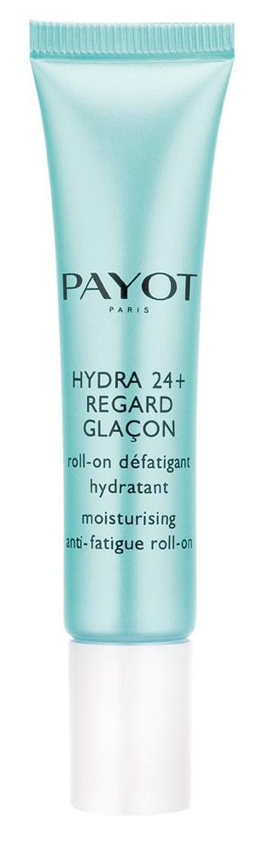 Payot Hydra 24+ Увлажняющий гель с роликовым аппликатором для снятия усталости кожи вокруг глаз, 15 мл