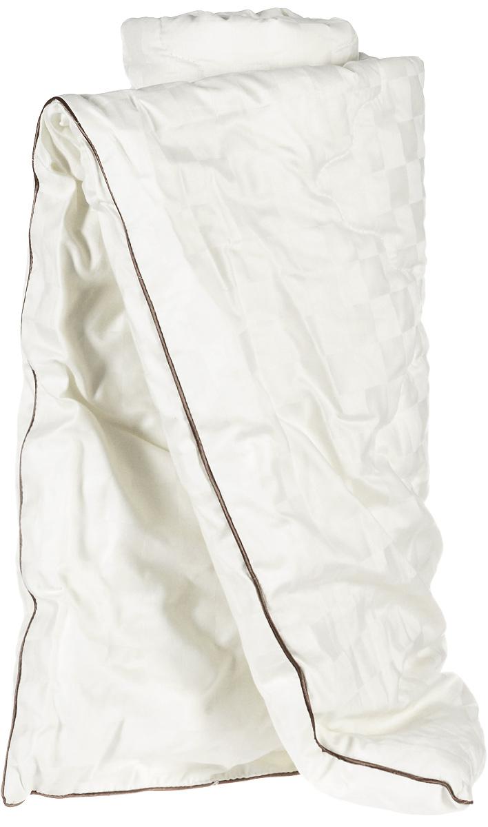 """Одеяло легкое Легкие сны """"Милана"""", наполнитель: шерсть кашмирской козы, 140 x 205 см"""