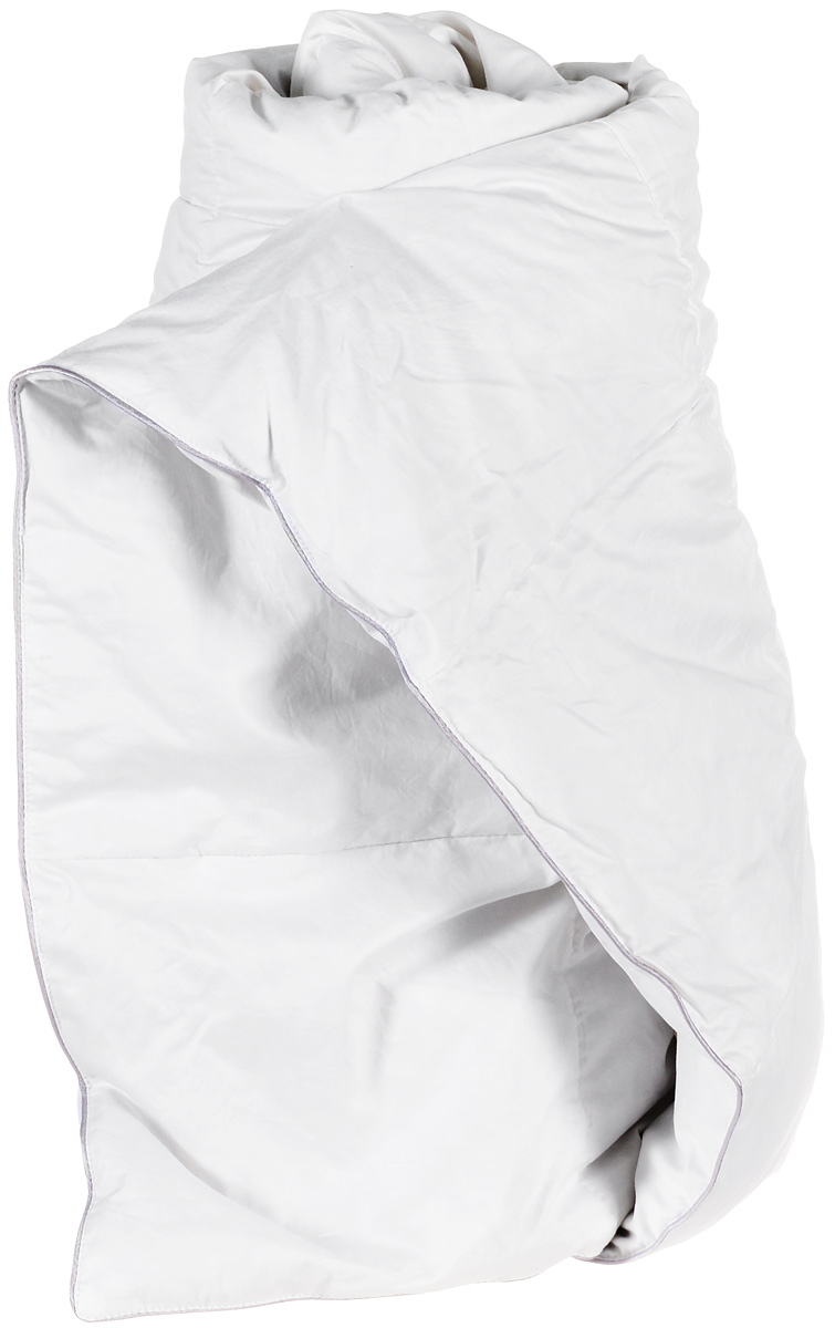 """Одеяло легкое Легкие сны """"Лоретта"""", наполнитель: гусиный пух категории """"Экстра"""", 172 х 205 см"""