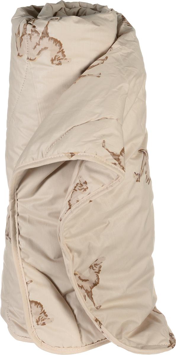 """Одеяло легкое Легкие сны """"Верби"""", наполнитель: верблюжья шерсть, 172 х 205 см"""