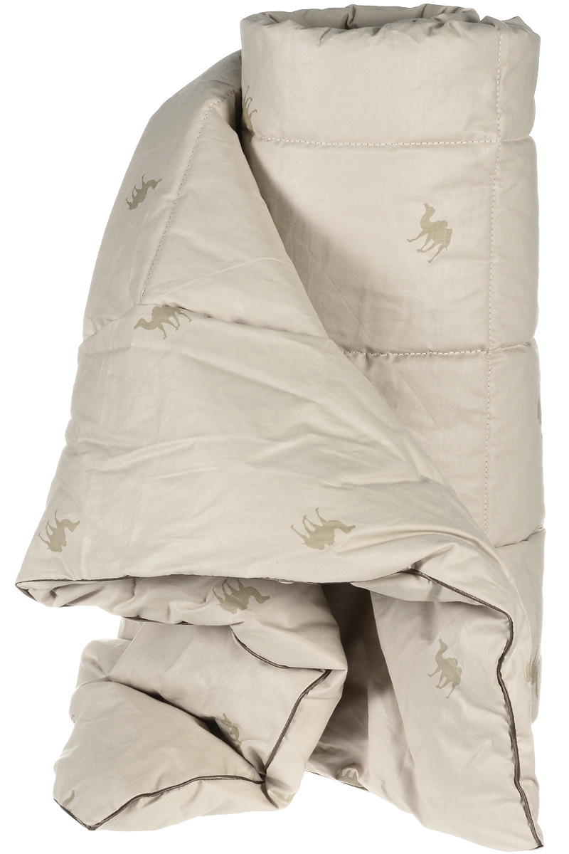 """Одеяло теплое Легкие сны """"Верби"""", наполнитель: верблюжья шерсть, 172 x 205 см"""