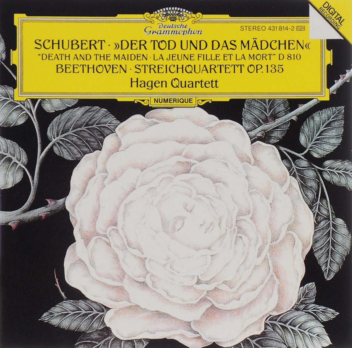 Hagen Quartett Hagen Quartett. Schubert. Der Tod Und Das Madchen / Beethoven. Streichquartett Op. 135 farid hagen