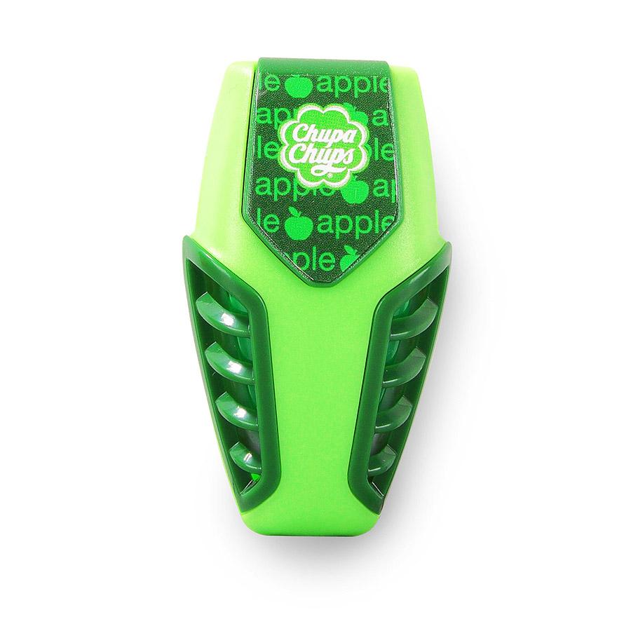 Ароматизатор воздуха Chupa Chups Яблоко, на дефлектор, мембранный, гелевый, 3 мл ароматизатор гелевый