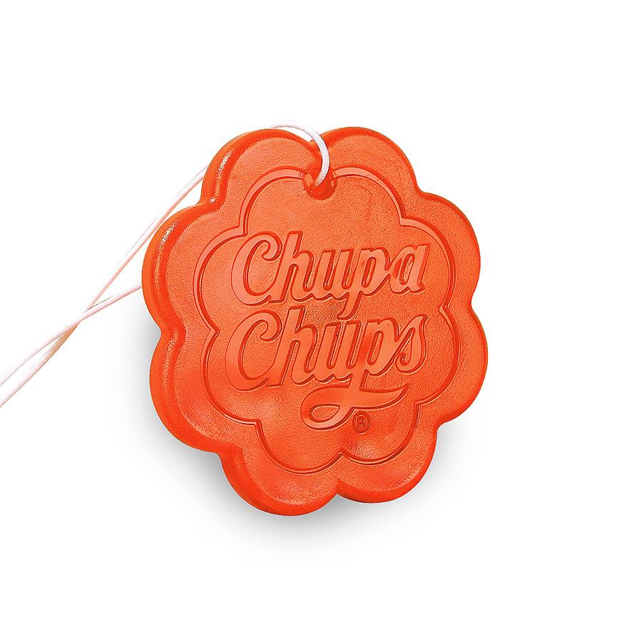 Ароматизатор воздуха Chupa Chups Арбуз, подвесной, гелевый, 18 г ароматизатор воздуха chupa chups клубника со сливками подвесной флакон 5 мл