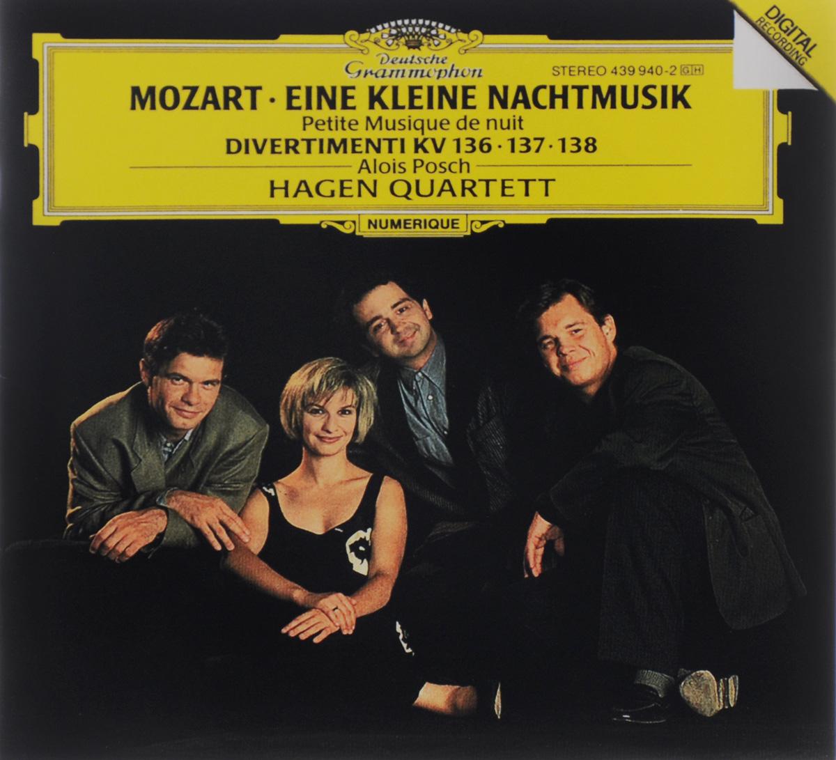 Алоис Пош,Hagen Quartett Alois Posch. Mozart. Eine Kleine Nachtmusik / Divertimenti KV 136, 137, 138 карандаш пош