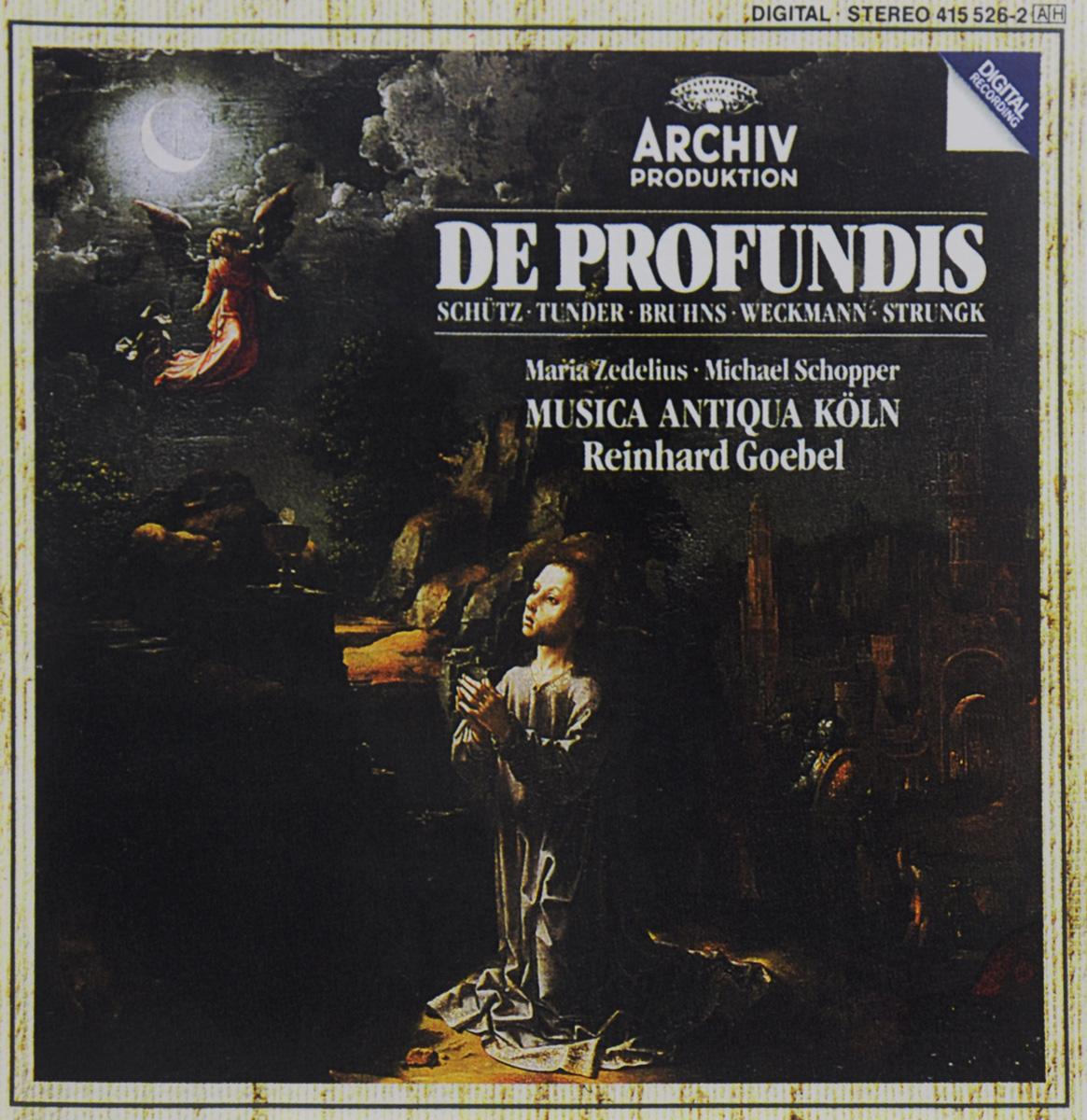 Maria Zedelius,Майкл Шоппер,Musica Antiqua Koln Orchestra,Рейнхард Гебель Reinhard Goebel. De Profundis