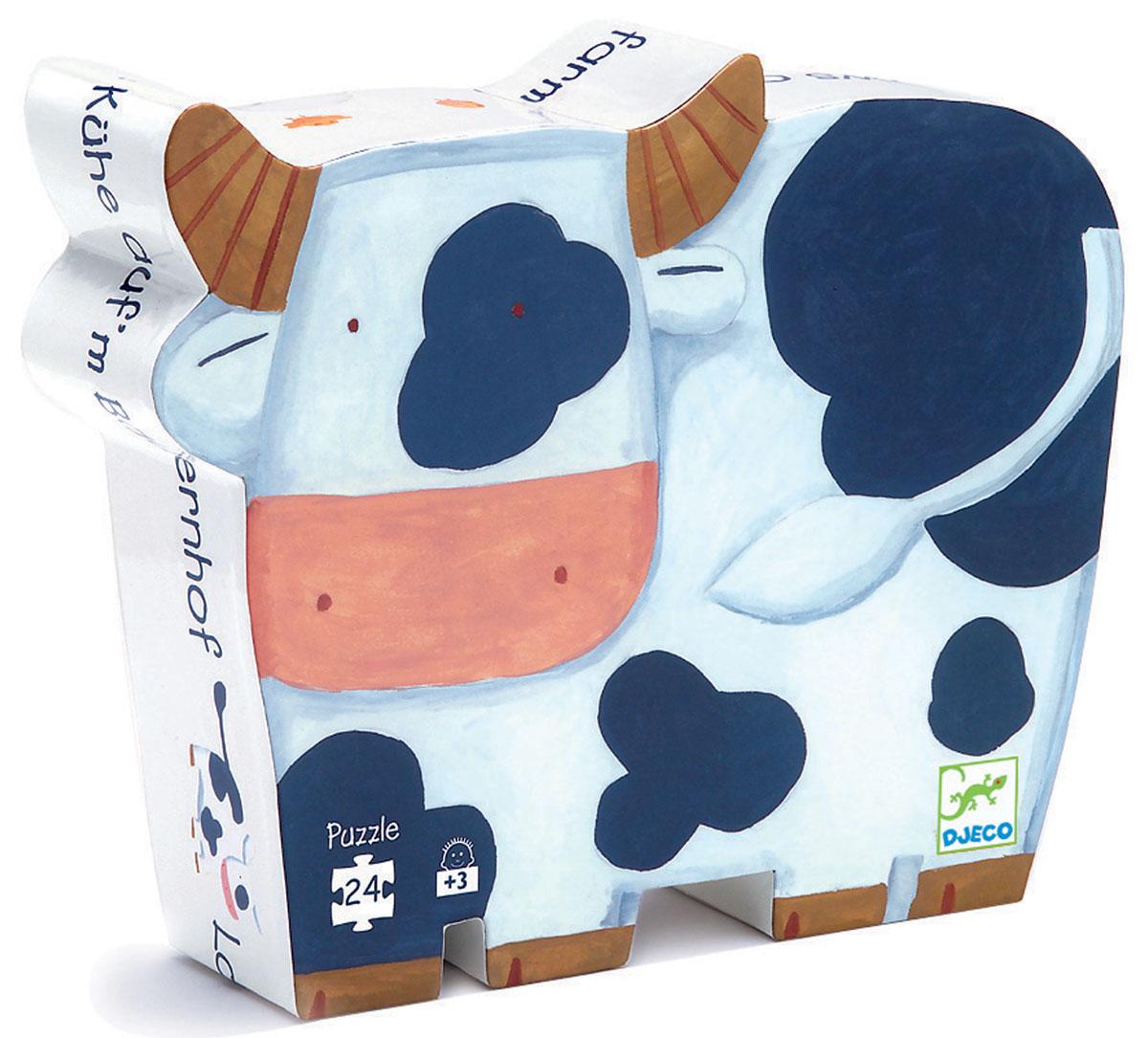 Djeco Пазл для малышей Коровы на ферме djeco пазл djeco коровы на ферме 24 элемента