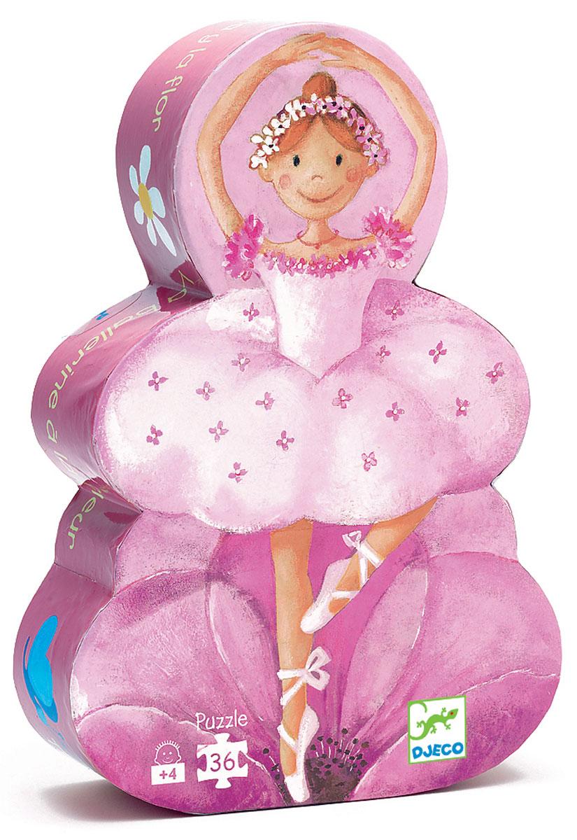 Djeco Пазл для малышей Балерина с цветами пазл балерина с цветами djeco пазл балерина с цветами