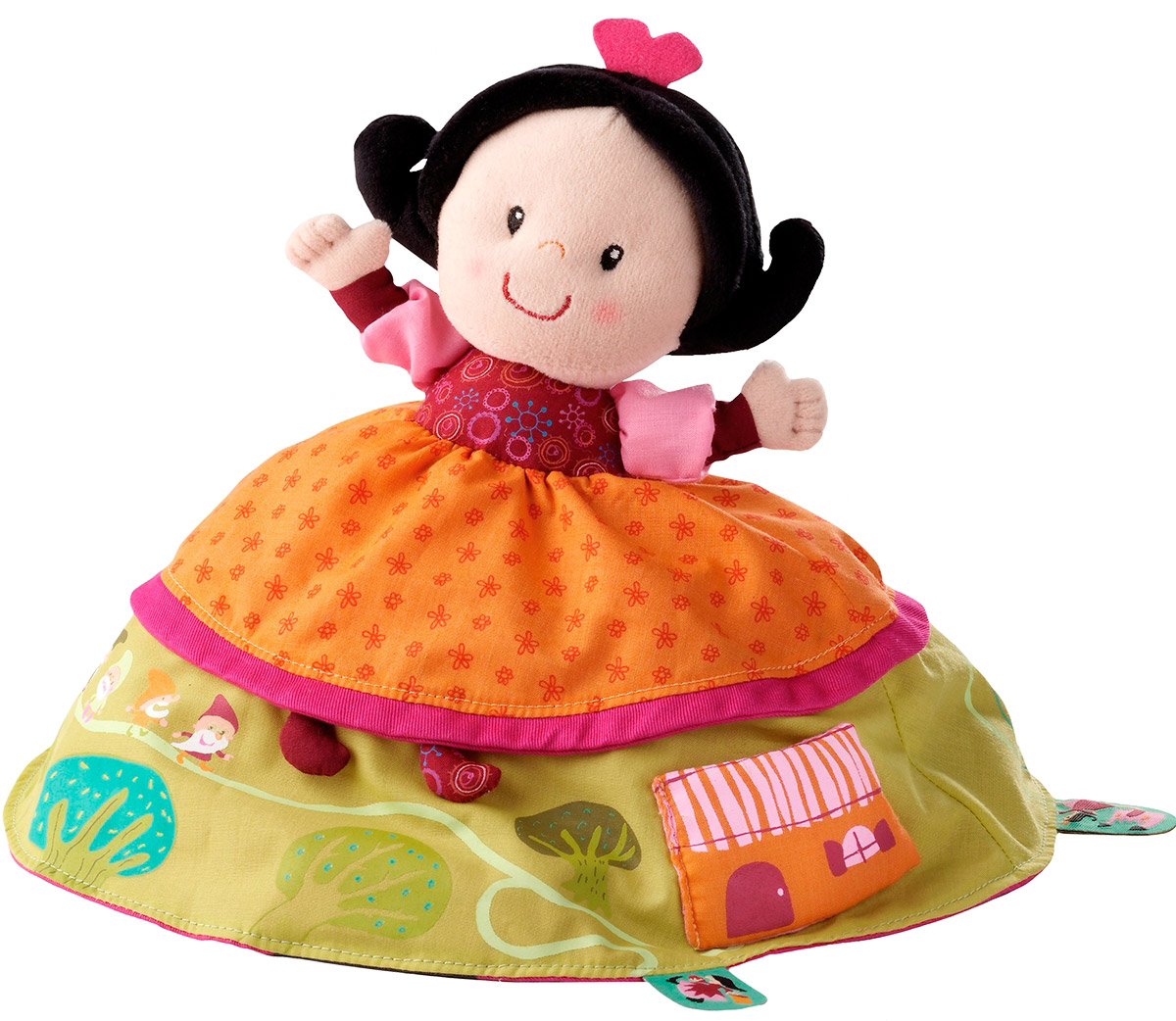 Lilliputiens Мягкая кукла-сказка Белоснежка