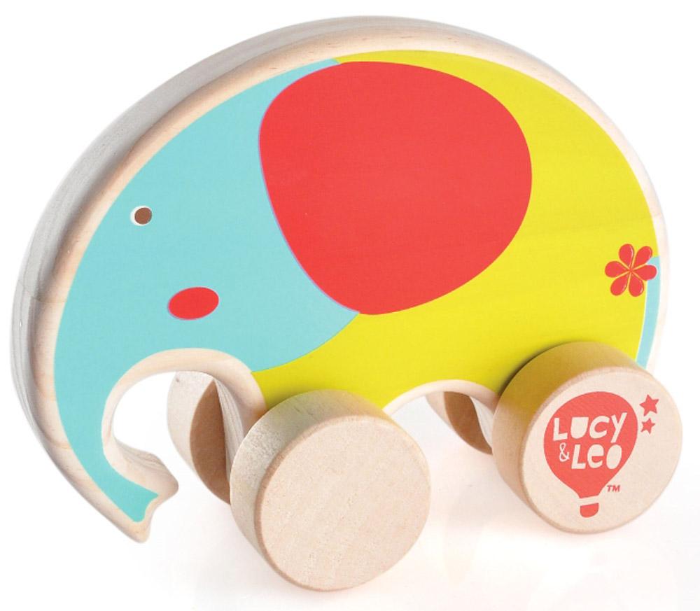 Lucy&Leo Игрушка-каталка Слон игрушки каталки лена утенок 65620