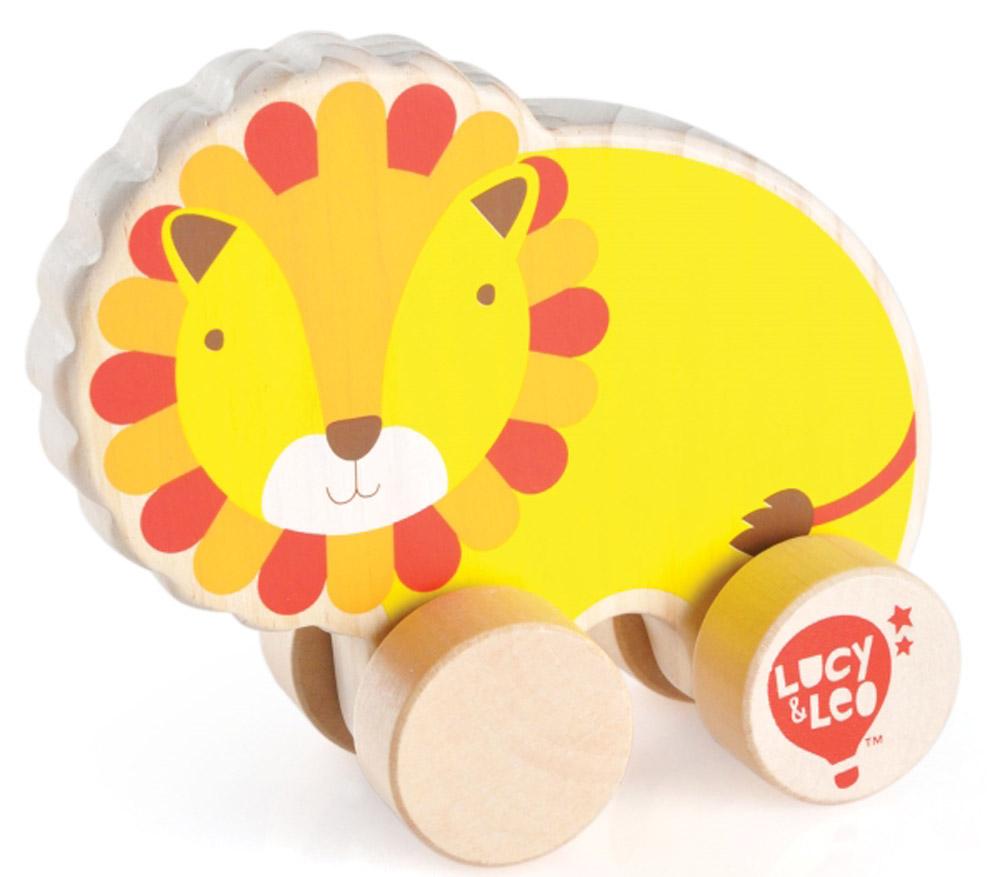 Lucy&Leo Игрушка-каталка Лев игрушки каталки лена утенок 65620