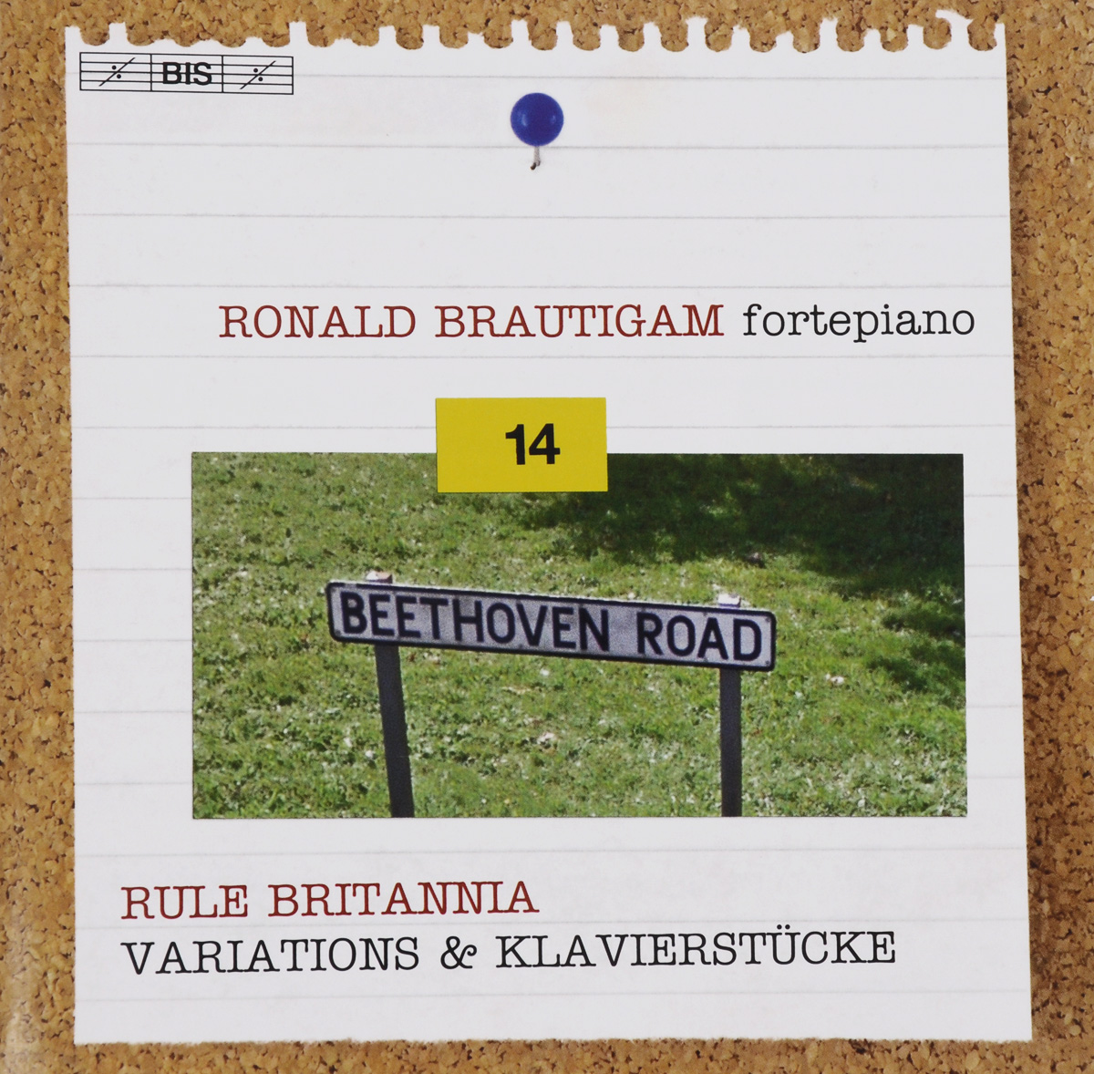 Роналд Броутайджем Ronald Brautigam. Beethoven. Complete Works For Solo Piano Volume 14. Rule Britannia. Variations & Klavierstucke (SACD) beethoven the complete concertos volume 2
