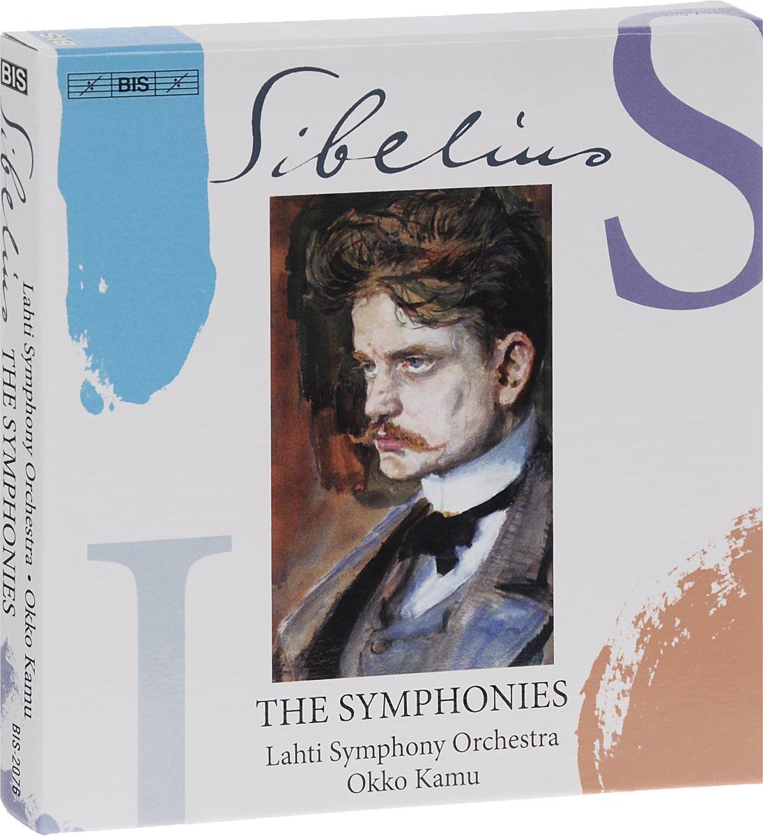 Окко Каму,Lahti Symphony Orchestra,Ян Сибелиус Lahti Symphony Orchestra. Okko Kamu. Sibelius. The Symphonies (3 SACD)