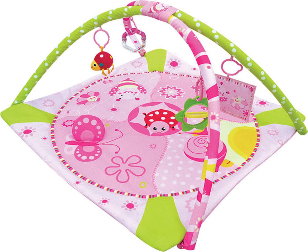 все цены на Balio Развивающий коврик цвет розовый онлайн