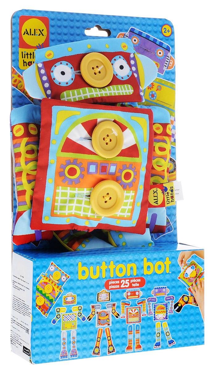 Alex Toys Развивающая игрушка Робот Пуговка
