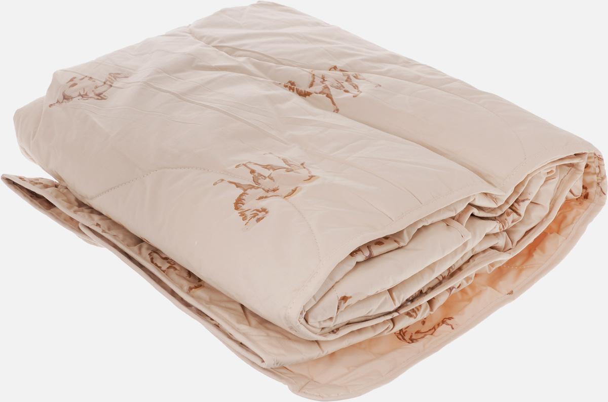 """Одеяло легкое Легкие Сны """"Верби"""", наполнитель: верблюжья шерсть, 140 x 205 см"""