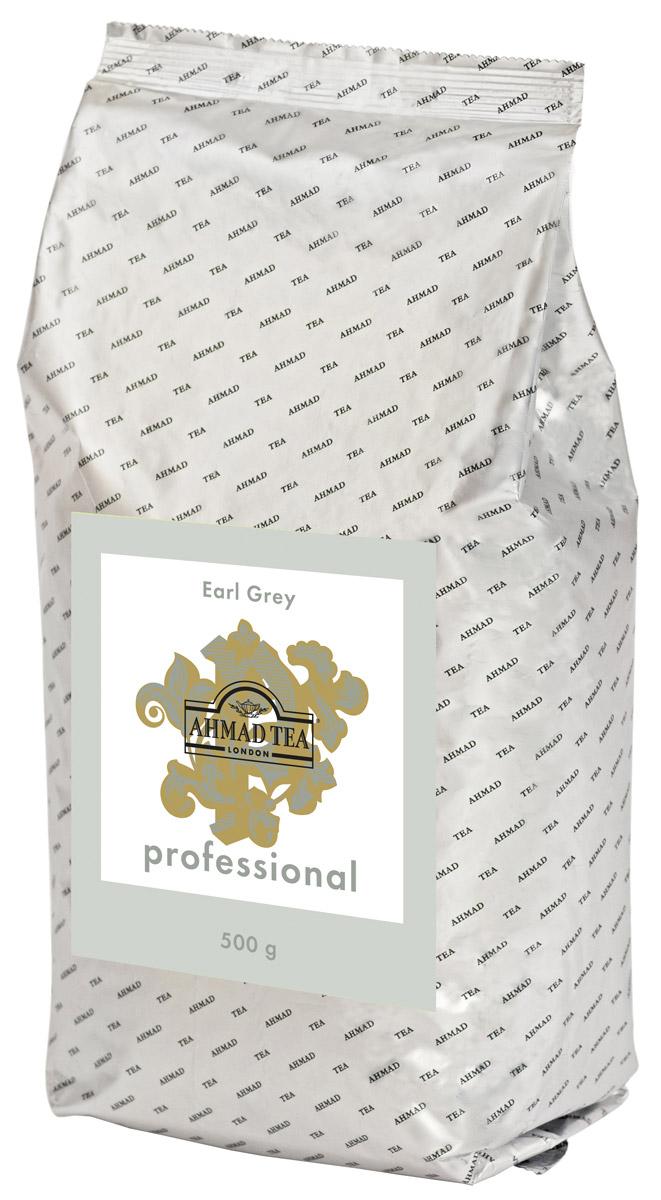 Ahmad Tea Professional Эрл Грей черный листовой чай, 500 г ahmad tea professional эрл грей чай черный листовой с бергамотом в фильтр пакетах для заваривания в чайнике 20 шт