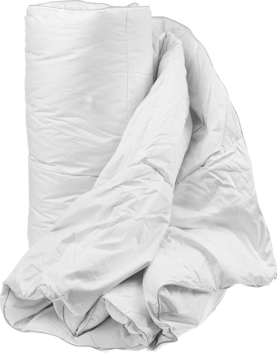 """Одеяло теплое Легкие сны """"Камилла"""", наполнитель: гусиный пух категории """"Экстра"""", 172 х 205 см"""