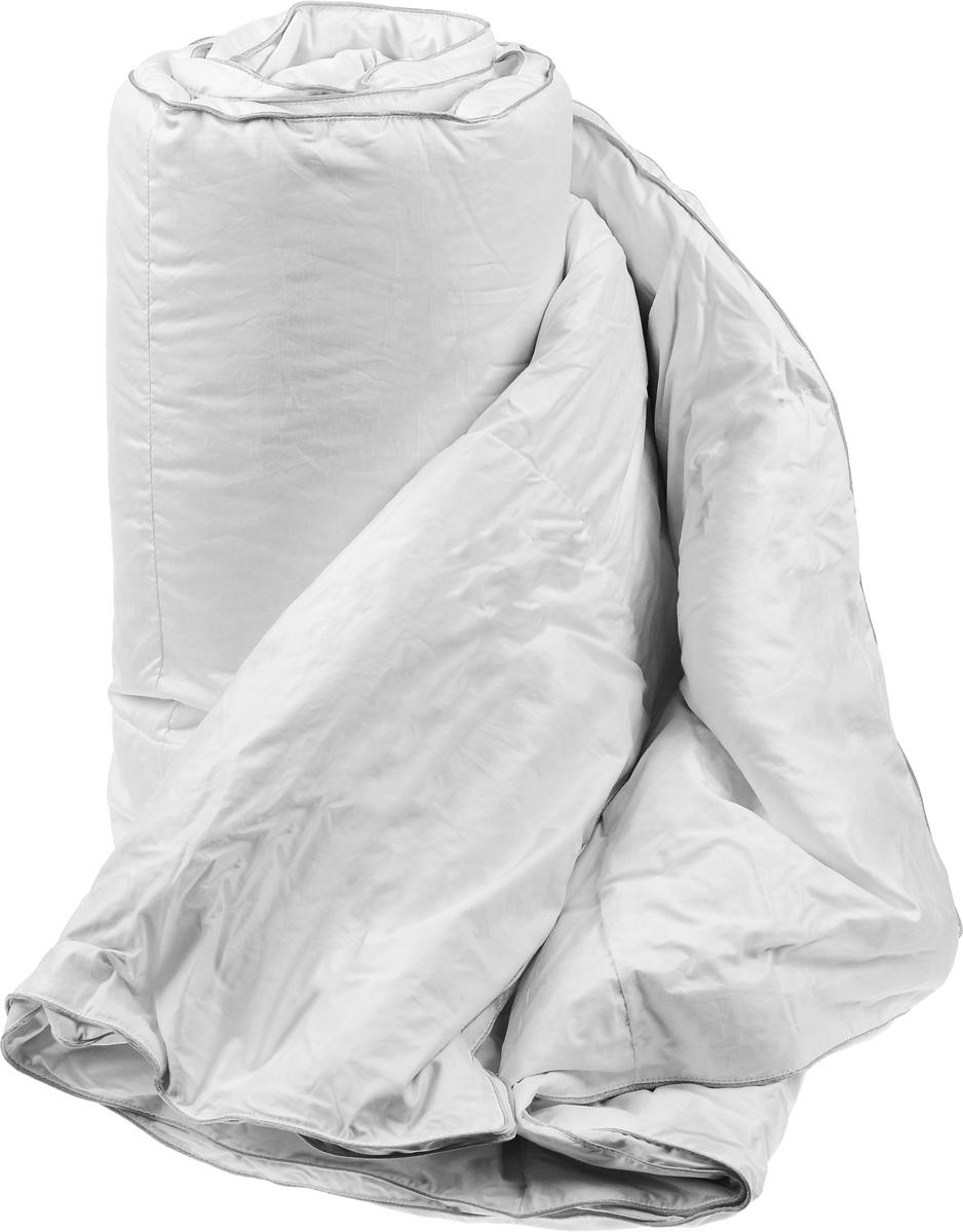 """Одеяло теплое Легкие сны """"Лоретта"""", наполнитель: гусиный пух категории """"Экстра"""", 172 х 205 см"""