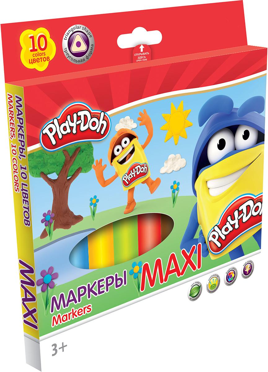 Play-Doh Набор маркеров Maxi 10 цветов