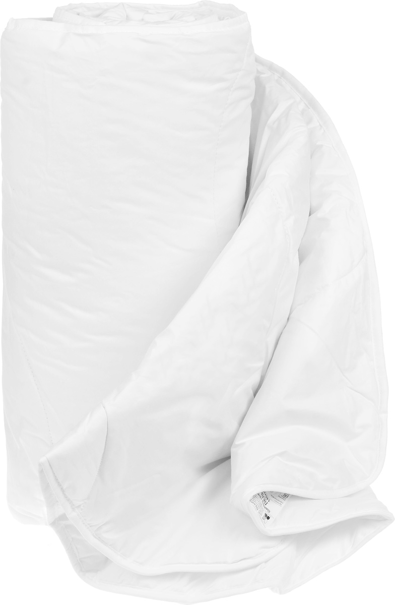 """Одеяло легкое Легкие сны """"Лель"""", наполнитель: лебяжий пух, 140 x 205 см"""