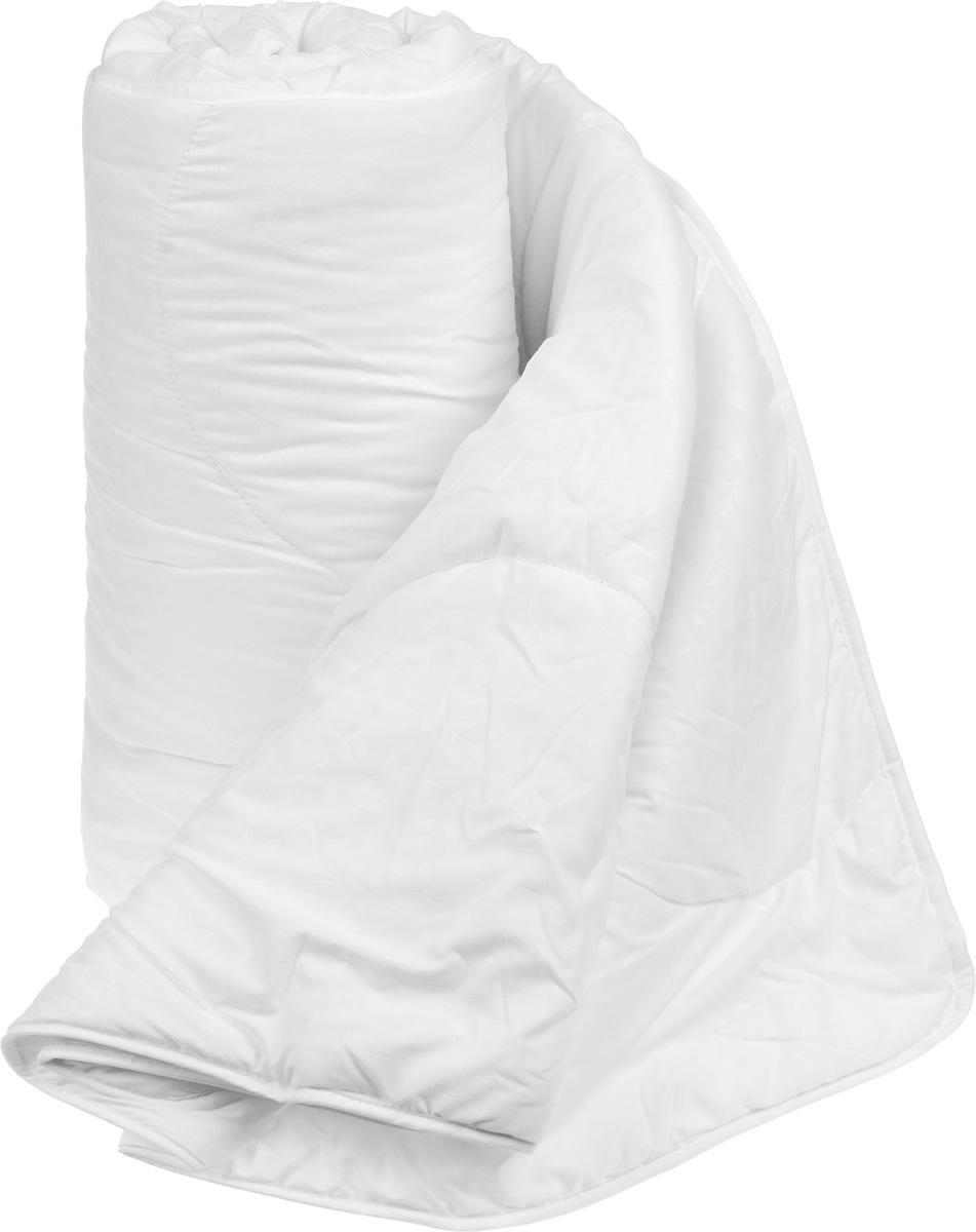 """Одеяло теплое Легкие сны """"Тропикана"""", наполнитель: бамбуковое волокно, 200 x 220 см"""