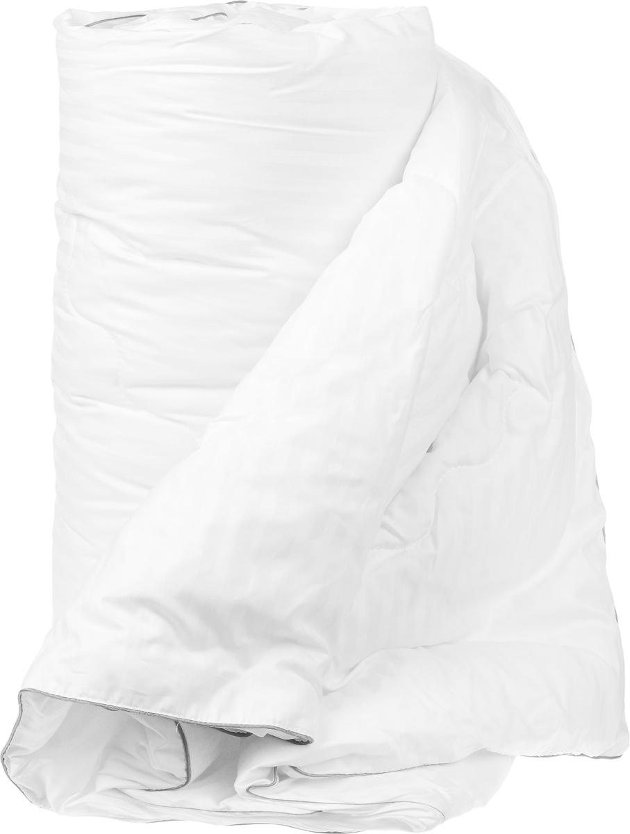 """Одеяло легкое Легкие сны """"Элисон"""", наполнитель: лебяжий пух, 140 x 205 см"""