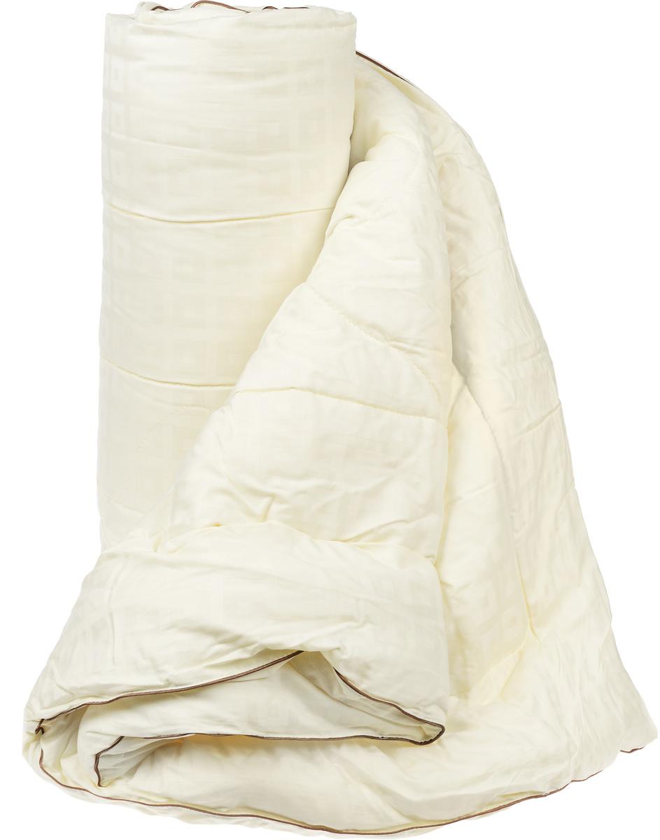 """Одеяло легкое Легкие сны """"Милана"""", наполнитель: шерсть кашмирской козы, 172 x 205 см"""