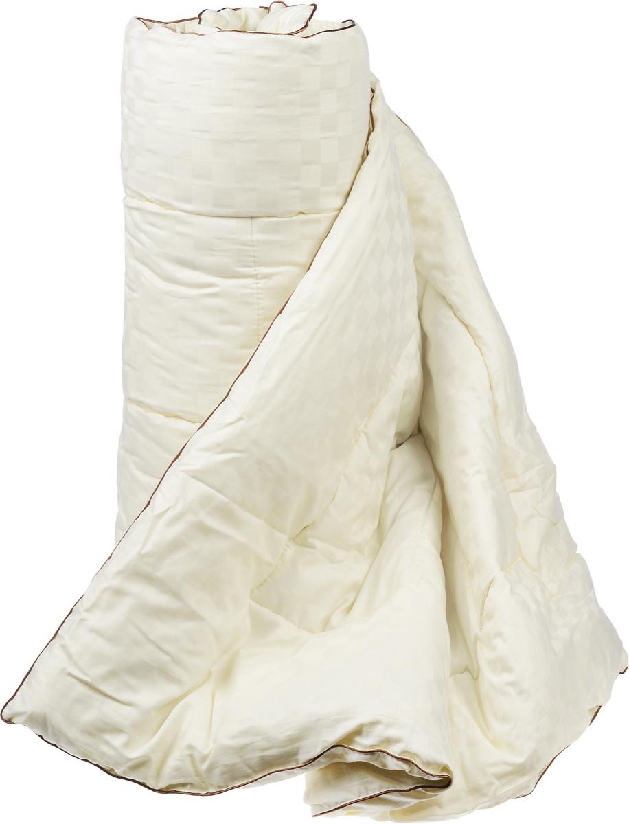 """Одеяло теплое Легкие сны """"Милана"""", наполнитель: шерсть кашмирской козы, 172 х 205 см"""