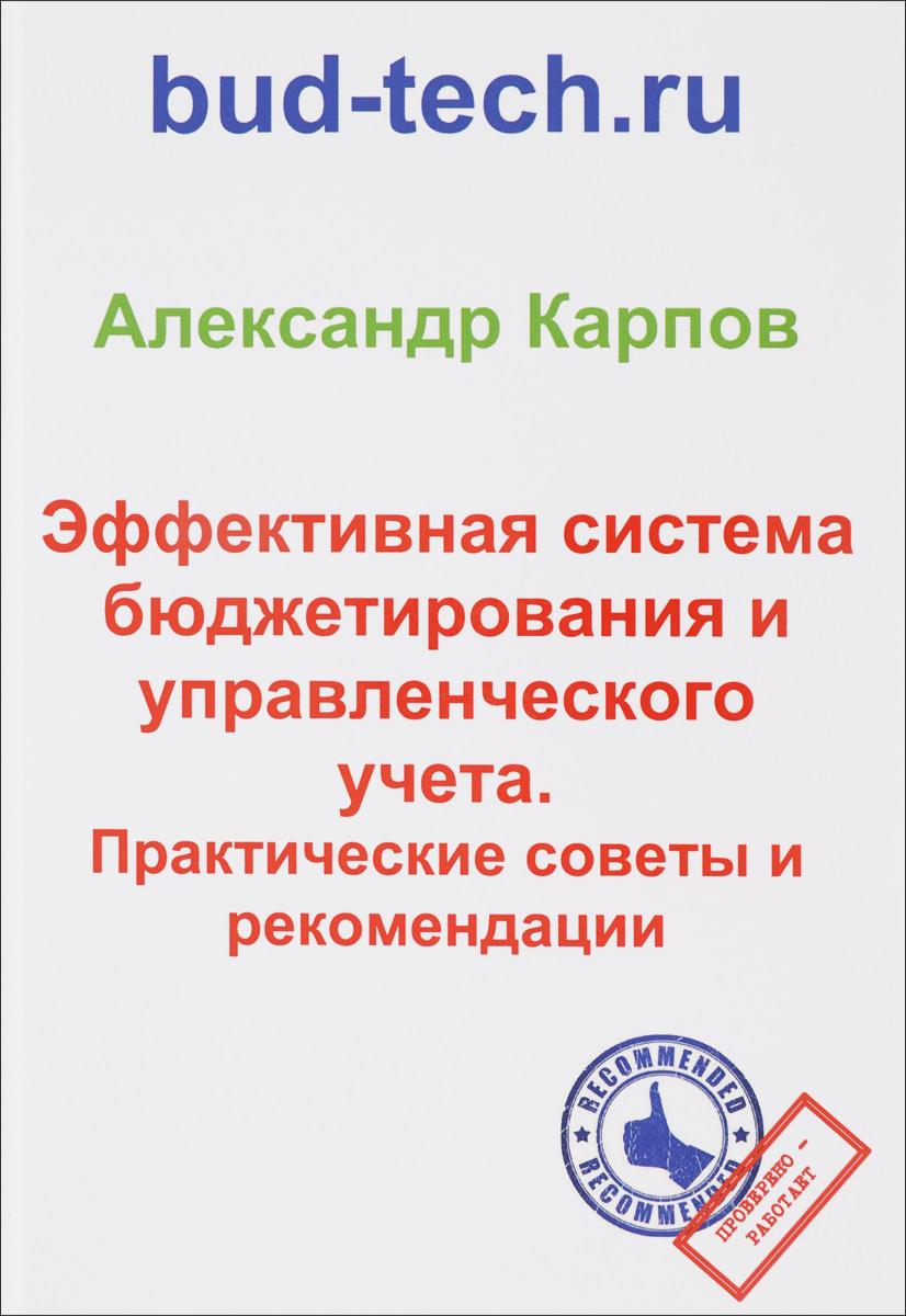 Александр Карпов Эффективная система бюджетирования и управленческого учета. Практические советы и рекомендации