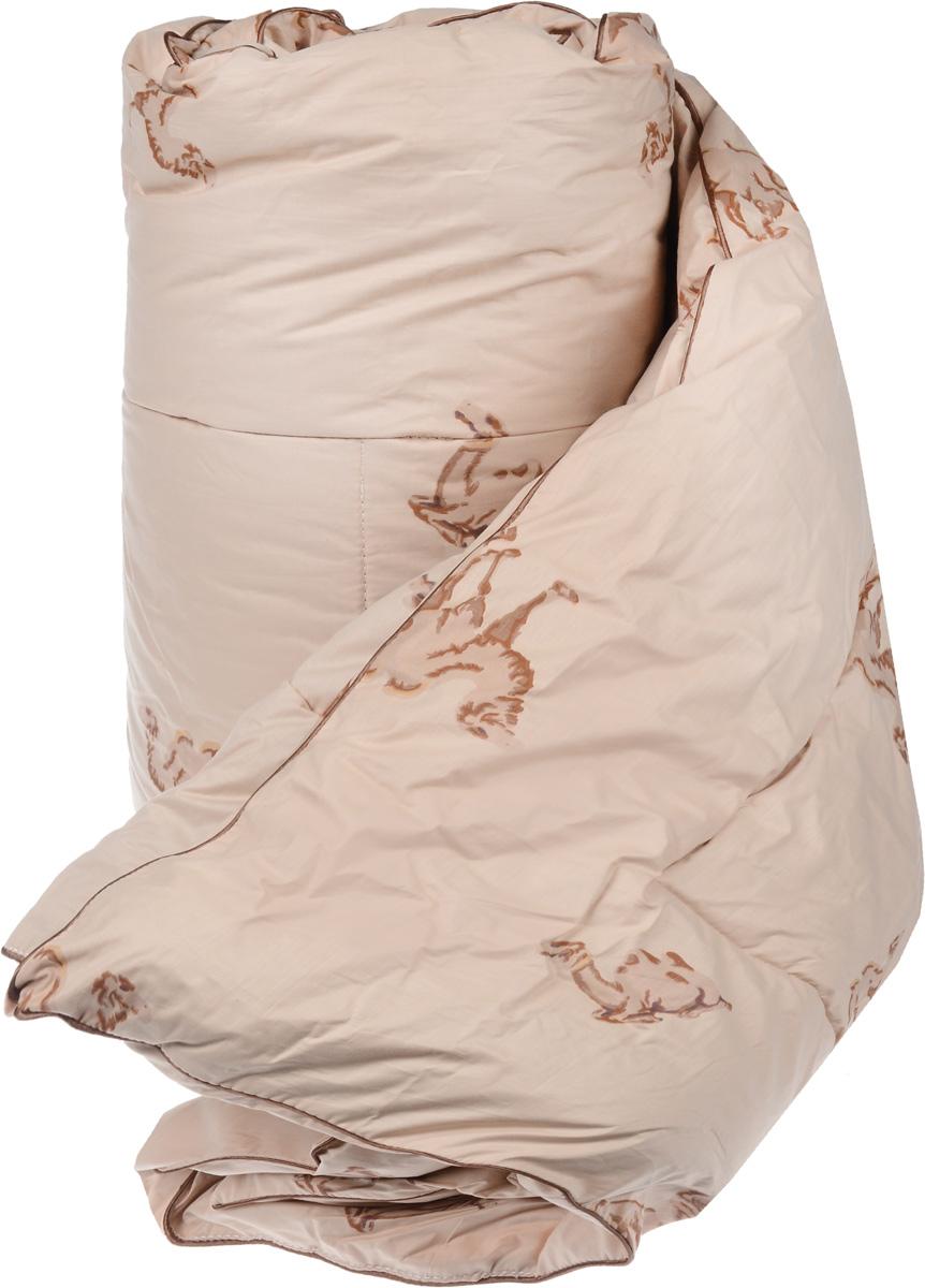 """Одеяло теплое Легкие сны """"Верби"""", наполнитель: верблюжья шерсть, 200 х 220 см"""
