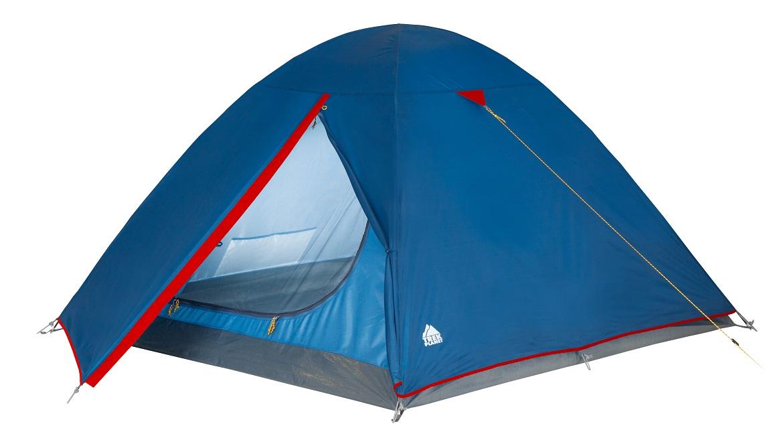 "Палатка трехместная Trek Planet ""Dallas 3"", цвет: синий"