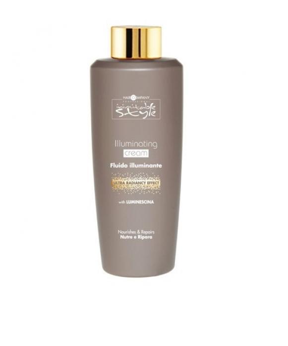Hair Company Крем для придания блеска Professional Inimitable Style Illuminating Cream 250 мл