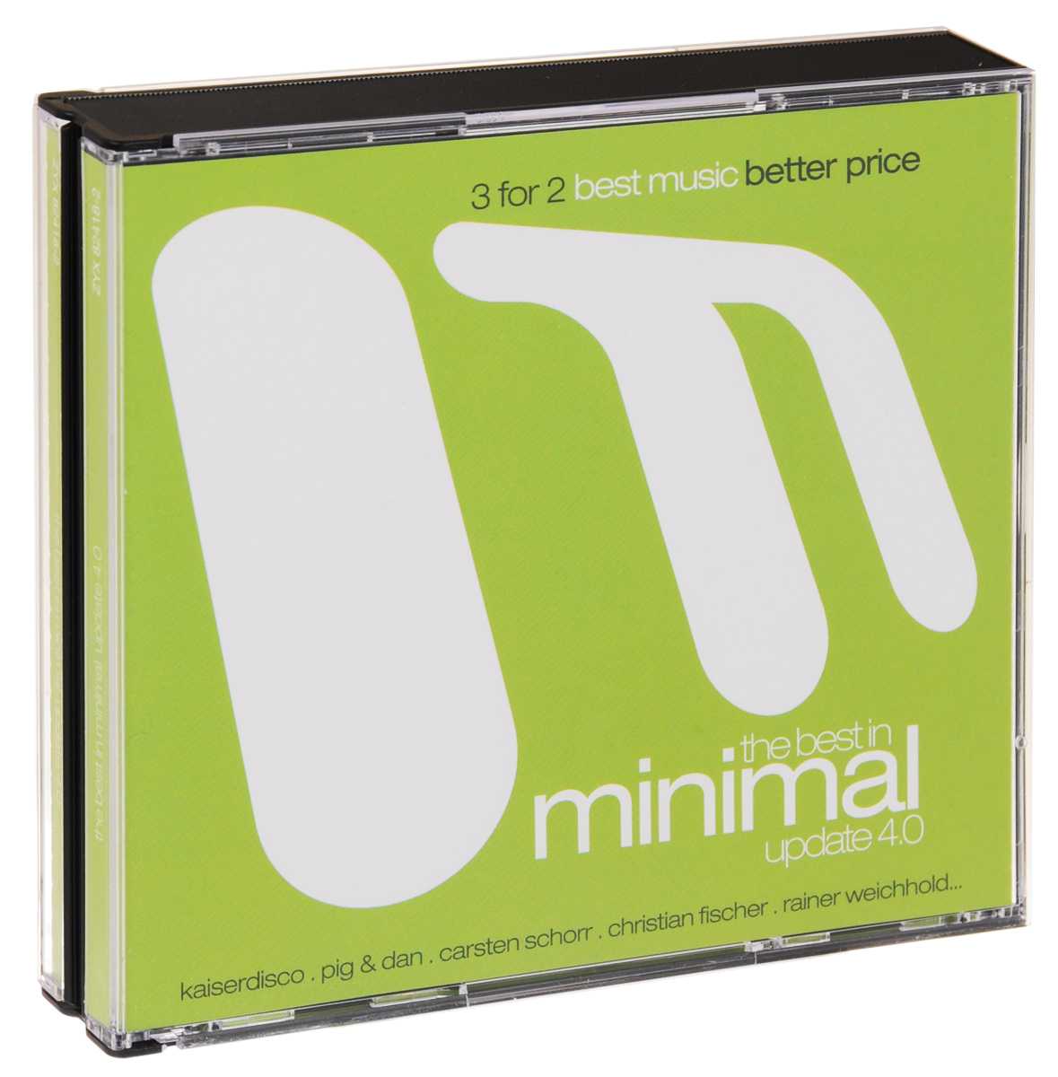 The Best In Minimal Update 4.0 (3 CD) михаил плетнев филип лейджер роджер норрингтон джон нельсон сабин мейер best adagios 50 3 cd