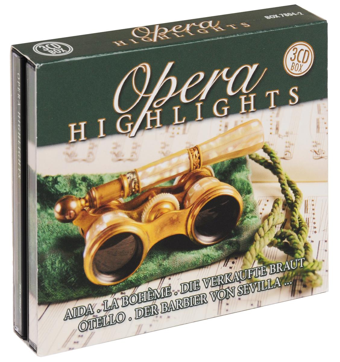 Фото - Opera Highlights (3 CD) klassik highlights in classic 4 cd