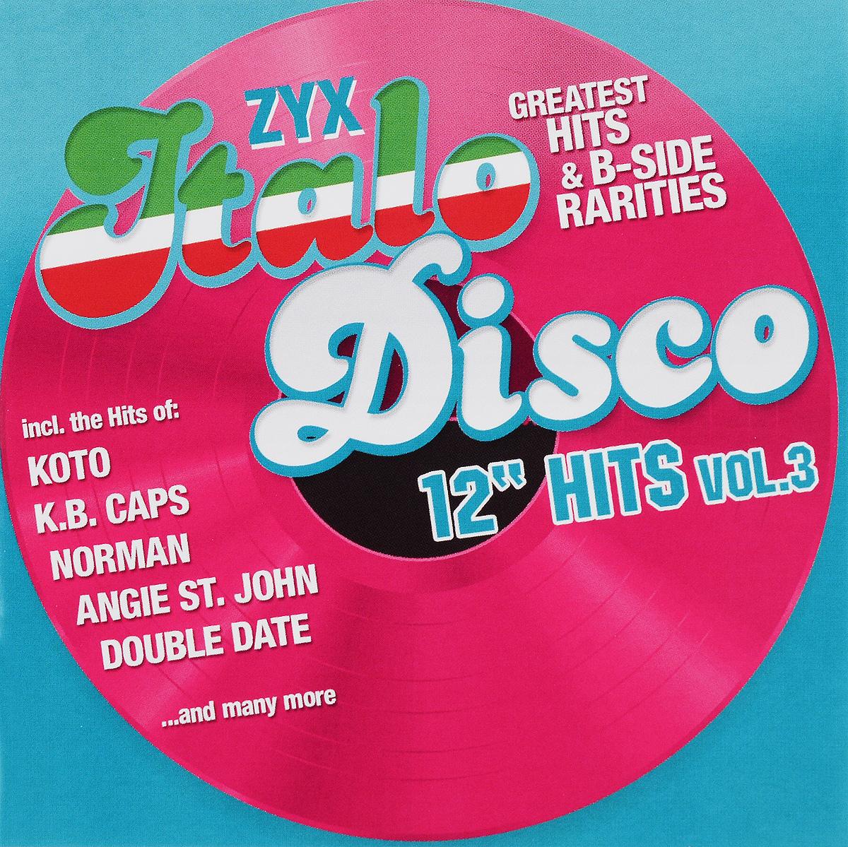 Italo Disco 12 Hits Vol. 3 (2 CD) italo disco collection 12 3 cd