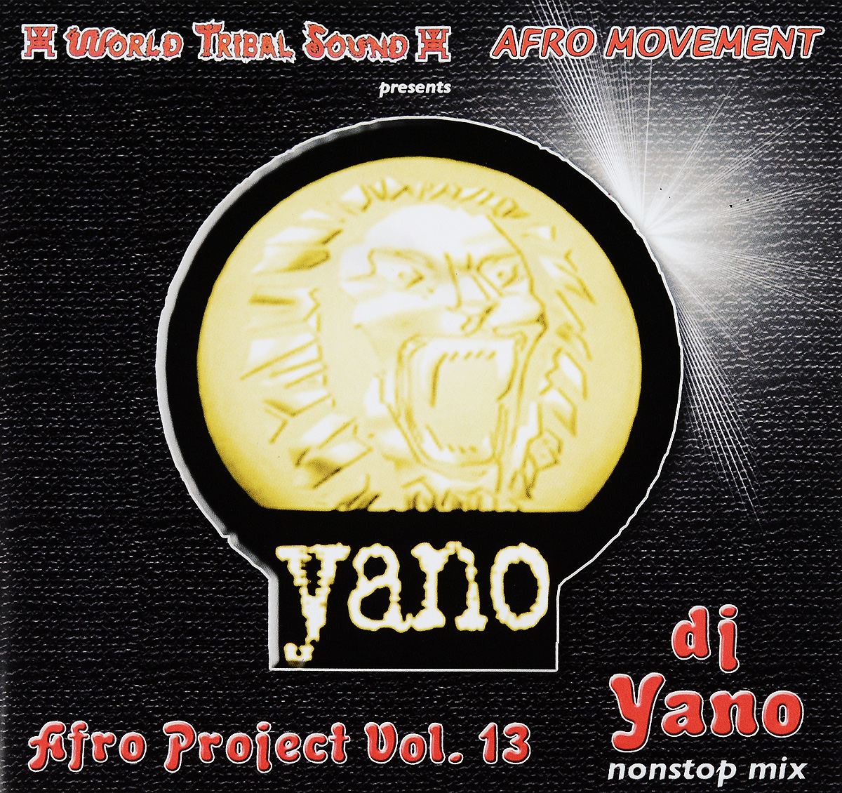 Dj Yano Dj Yano. Afro Project. Vol. 13 цена и фото