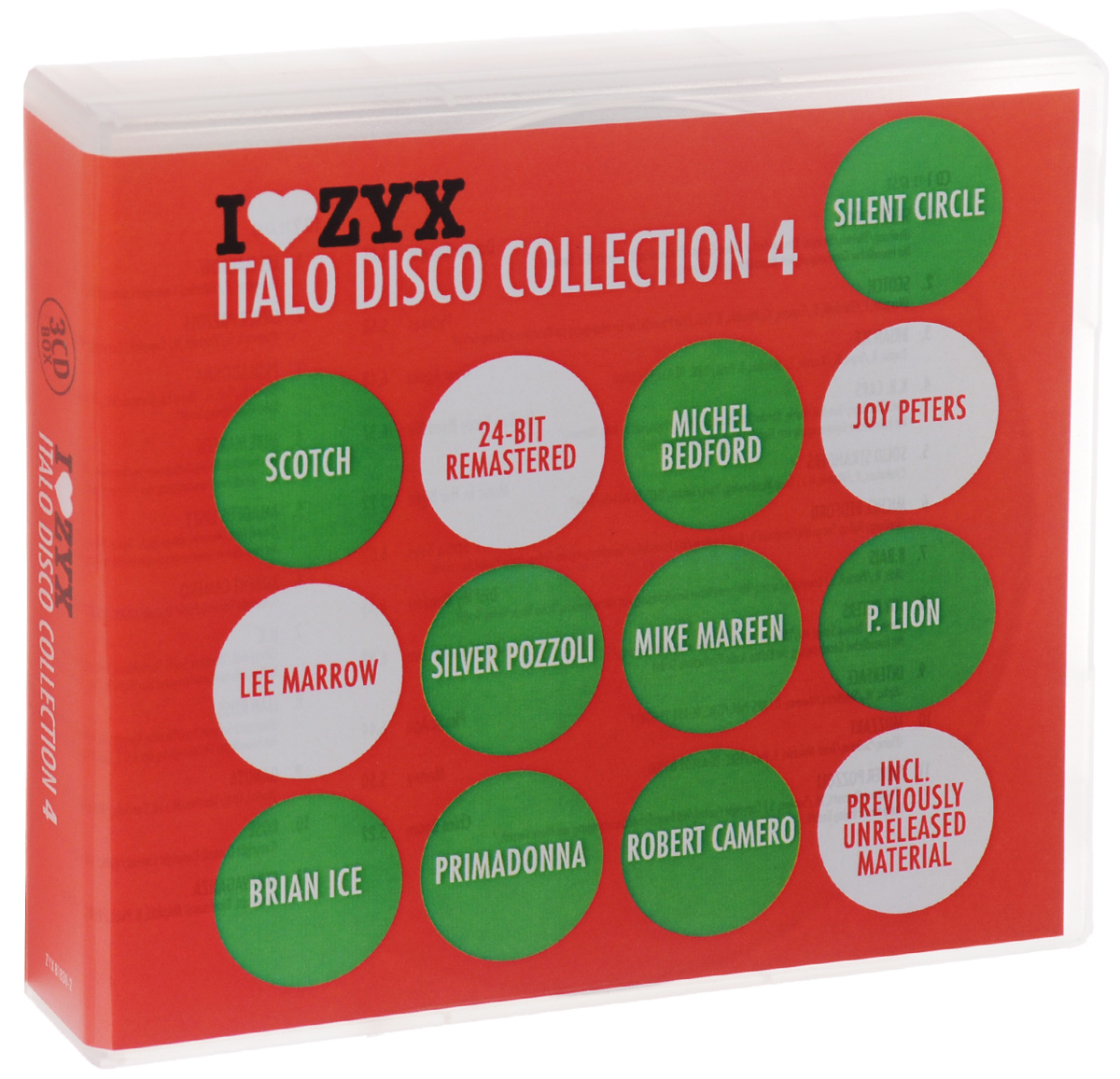 Italo Disco Collection 4 (3 CD) цена и фото