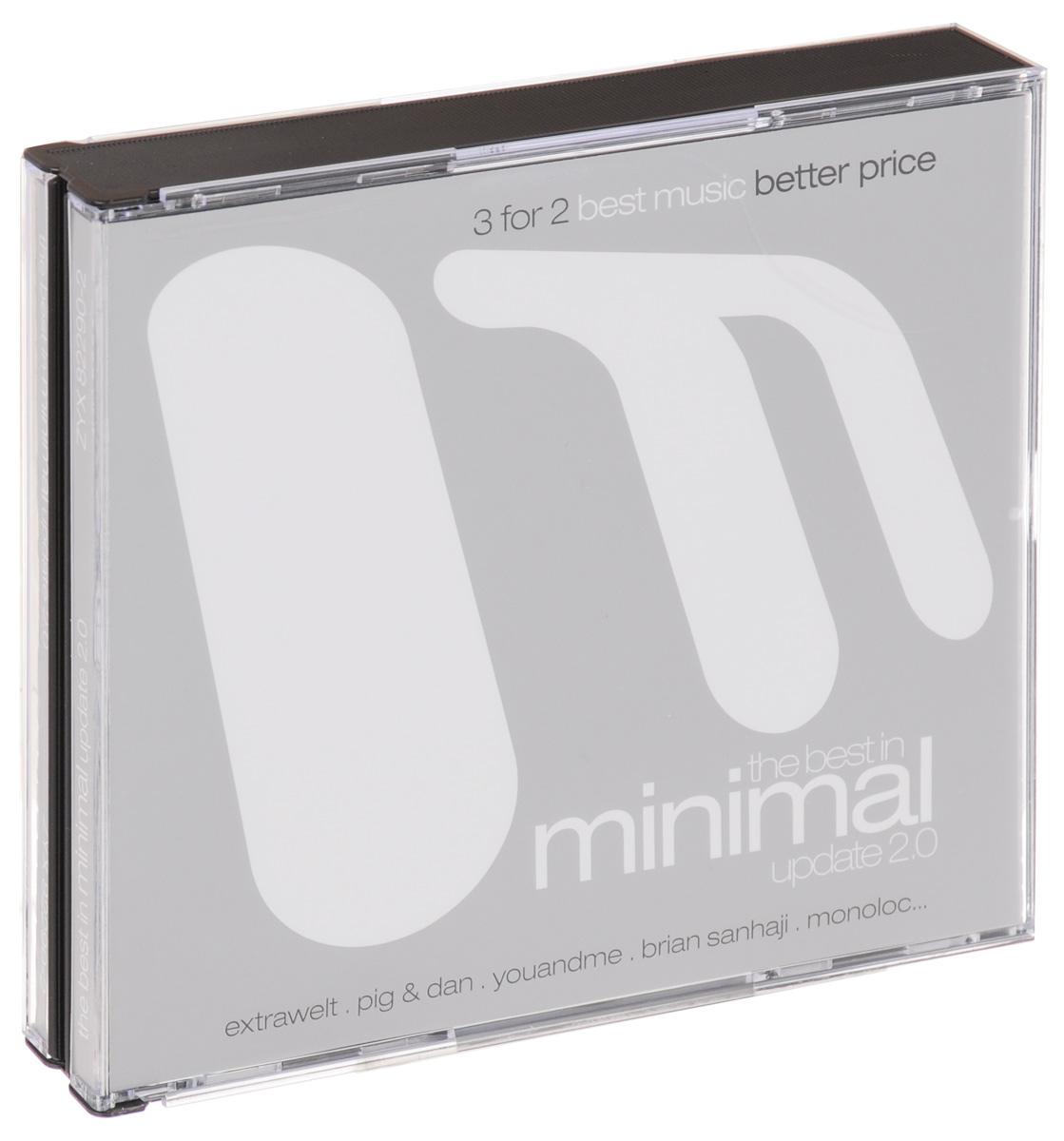 The Best In Minimal Update 2.0 (3 CD) михаил плетнев филип лейджер роджер норрингтон джон нельсон сабин мейер best adagios 50 3 cd