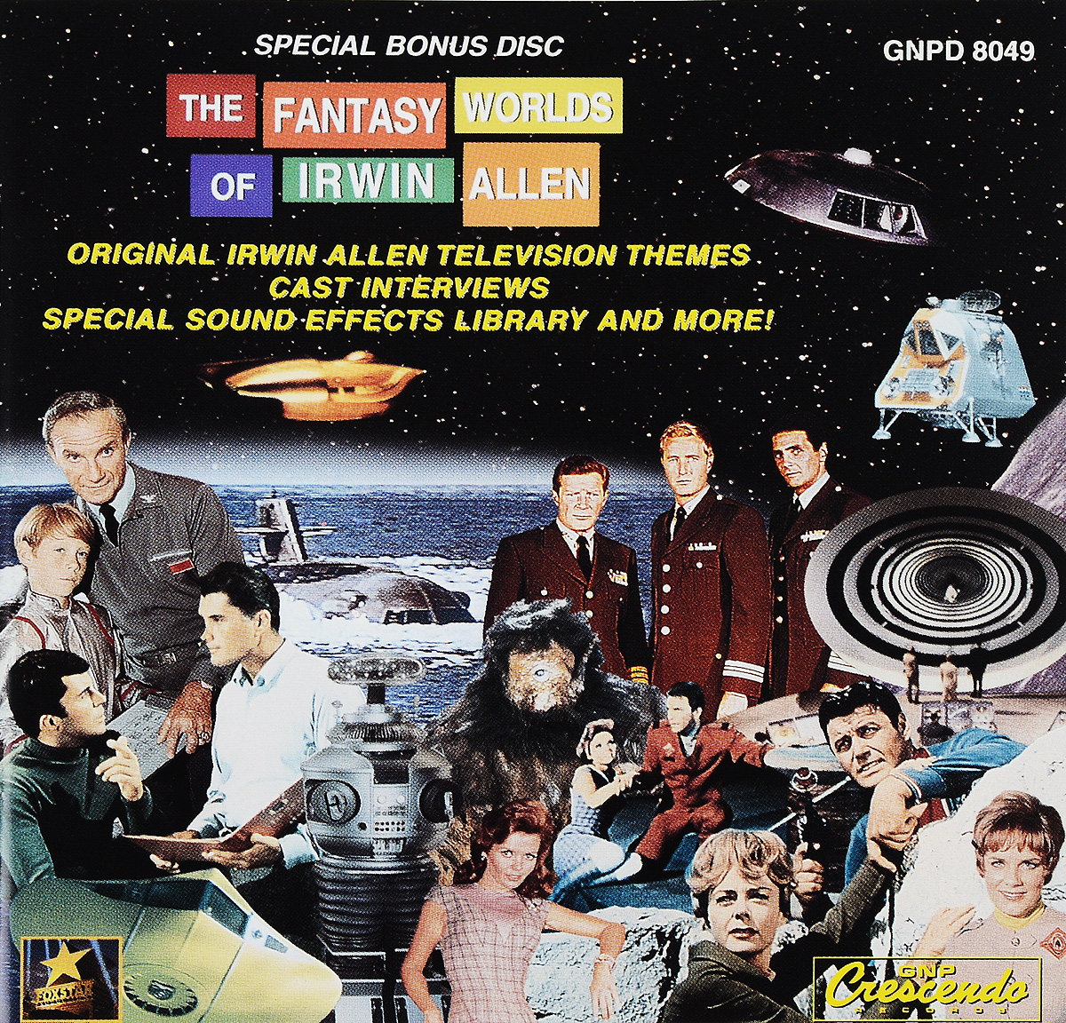 The Fantasy Worlds Of Irwin Allen. Bonus Disc цена