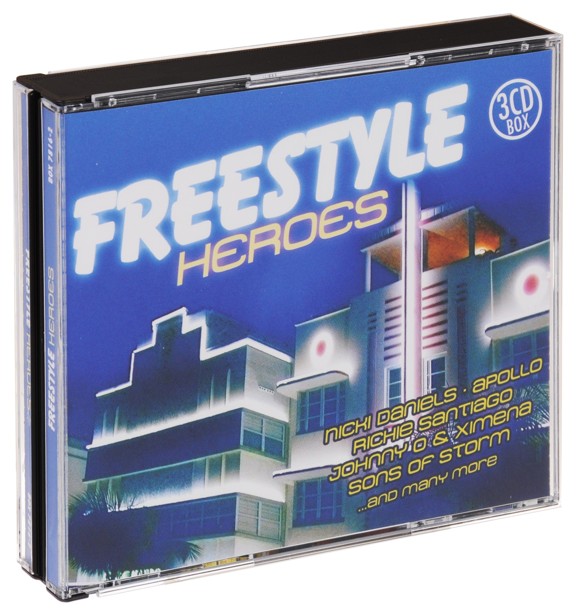 Freestyle Heroes (3 CD) johnny o rookie severin jayda soft touch лила грейс roxanna shineaz junior tiara suga mama x on jaylez maximnoise ники дэниэлс duap mc ричи сантьяго freestyle vol 40 best of final edition 3 cd