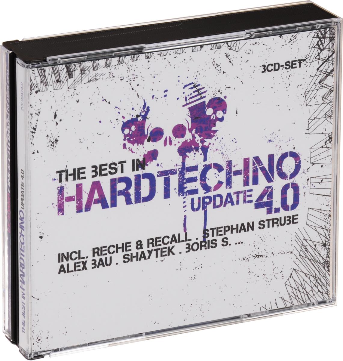 The Best In Hardtechno. Update 4.0 (3 CD) михаил плетнев филип лейджер роджер норрингтон джон нельсон сабин мейер best adagios 50 3 cd