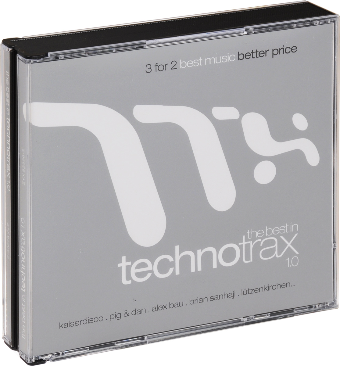 The Best In Technotrax 1.0 (3 CD) михаил плетнев филип лейджер роджер норрингтон джон нельсон сабин мейер best adagios 50 3 cd